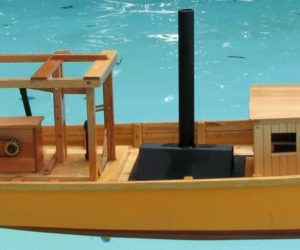 6-foot working model of John Fitch's Steamboat